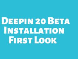 How to Install Deepin 20 Beta on VirtualBox and Deepin 20 Desktop First Look